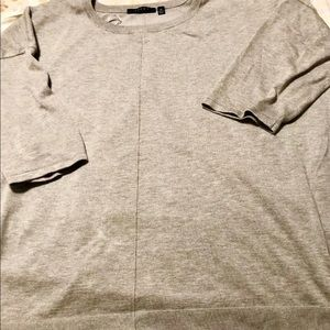 Cyrus 3X High Low Sweater Grey